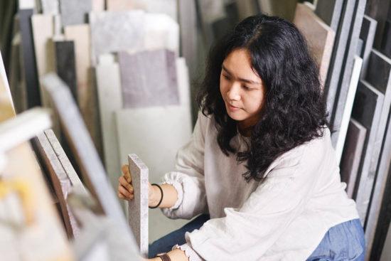 温室 Studio WENS 大理石花盆製作 7