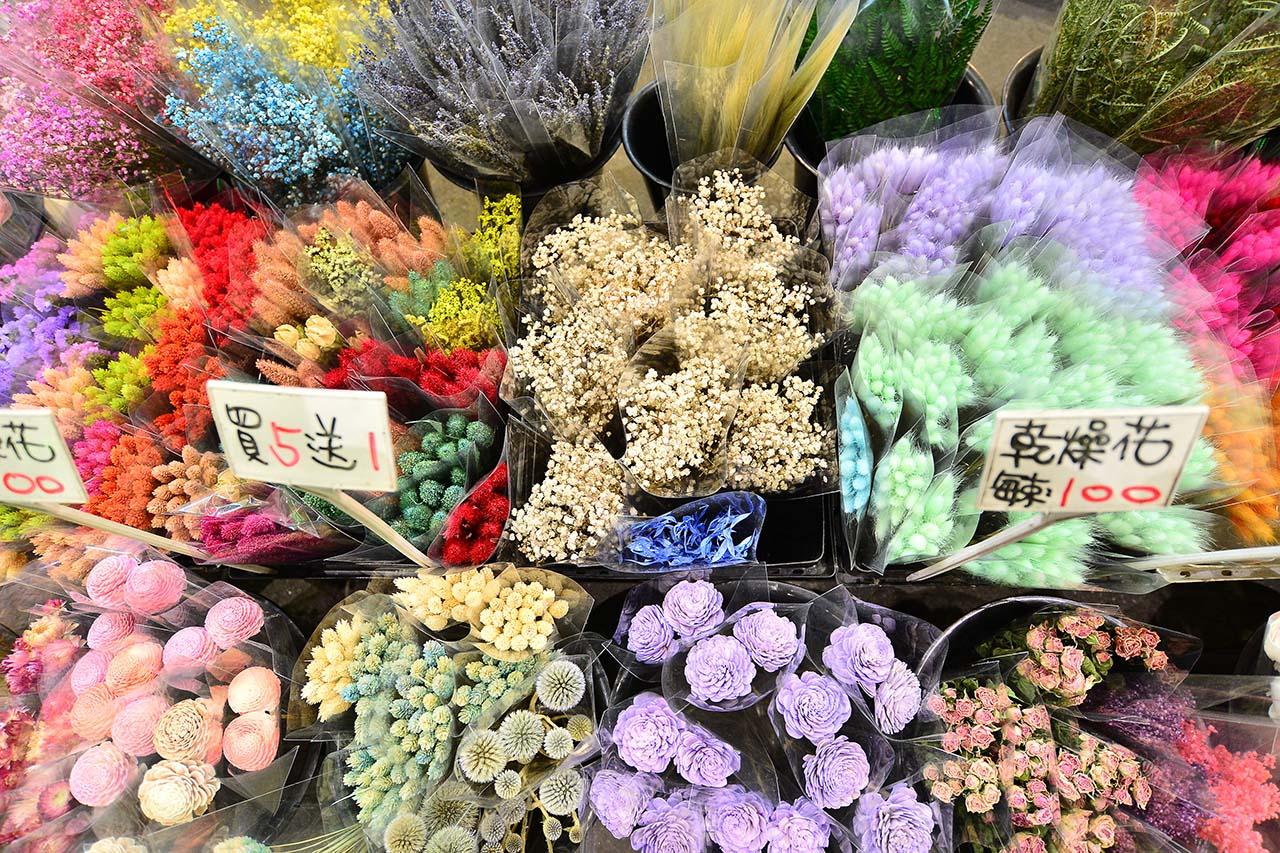 乾燥花介紹-建國花市-乾燥滿天星