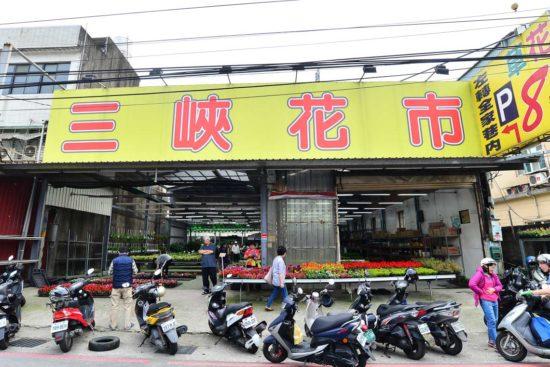 台北六大花市介紹-三峽花市