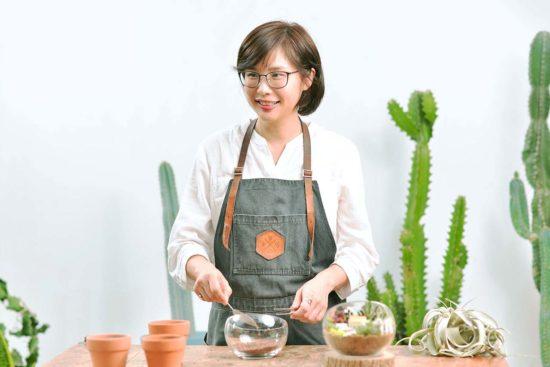 多肉植物微景設計講師
