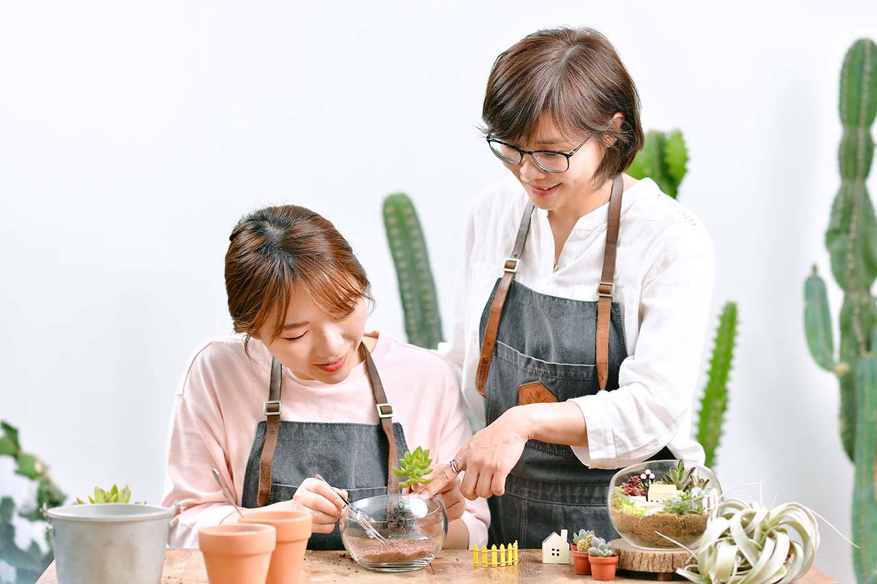 微景植物創作班