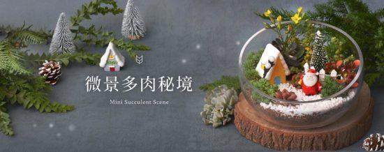 聖誕節活動企劃與設計整理(至 2021 年) 微景多肉秘境 官網