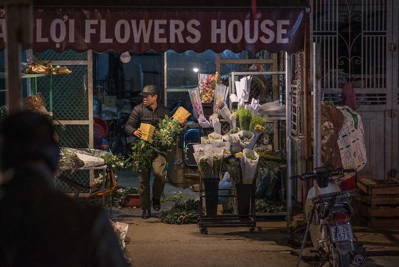 廣巴花市內的在地花店