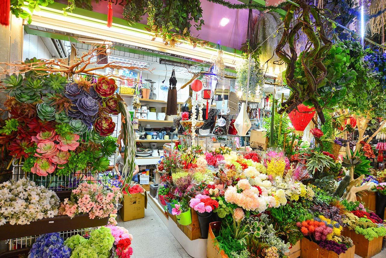 內湖買人造花