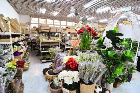 台北花木批發市場二樓買人造花卉