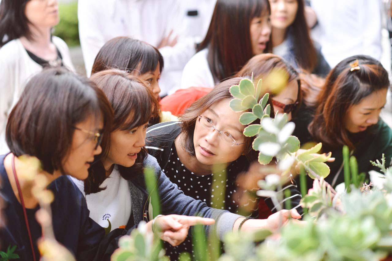 [ 多肉花藝 ] 植藝團隊體驗 4