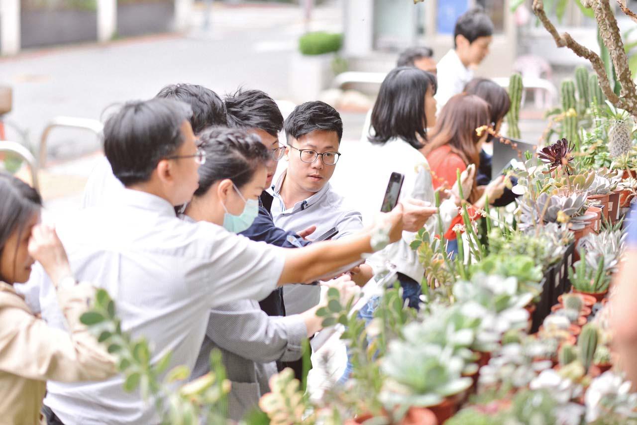 [ 多肉花藝 ] 植藝團隊體驗 8