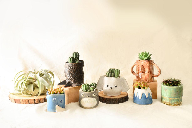 [ 陶藝課程 ]手捏陶器 & 多肉植栽 5