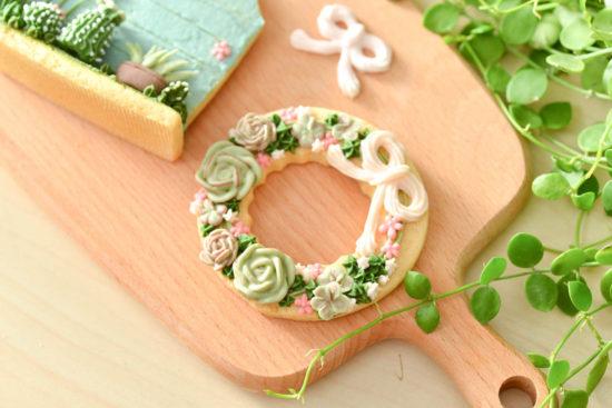 樂樂君開心餅乾 0612 多肉植物翻糖課@台北有肉 成品特寫04