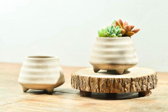 燻燒陶器盆栽
