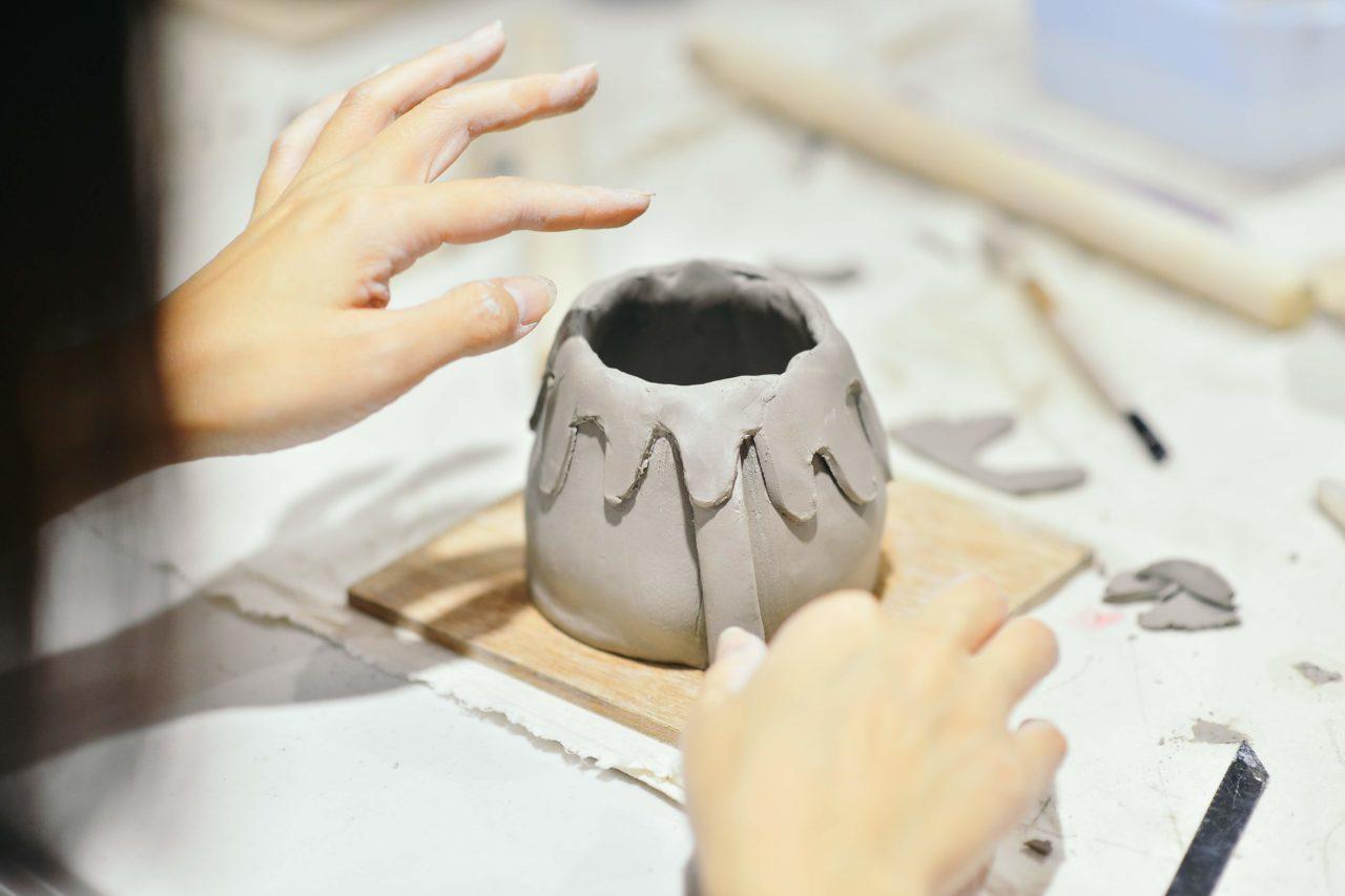 [ 陶藝課程 ]手捏陶器 & 多肉植栽 LINE 企業包班@有肉 65