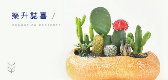 榮升花籃外的選擇,台北榮升盆栽推薦! banner 榮升誌喜