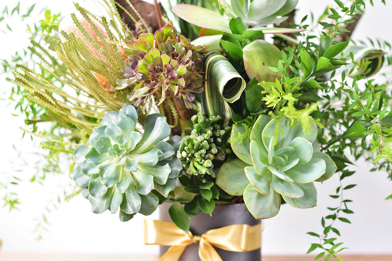 植物愛好者的花藝桌花