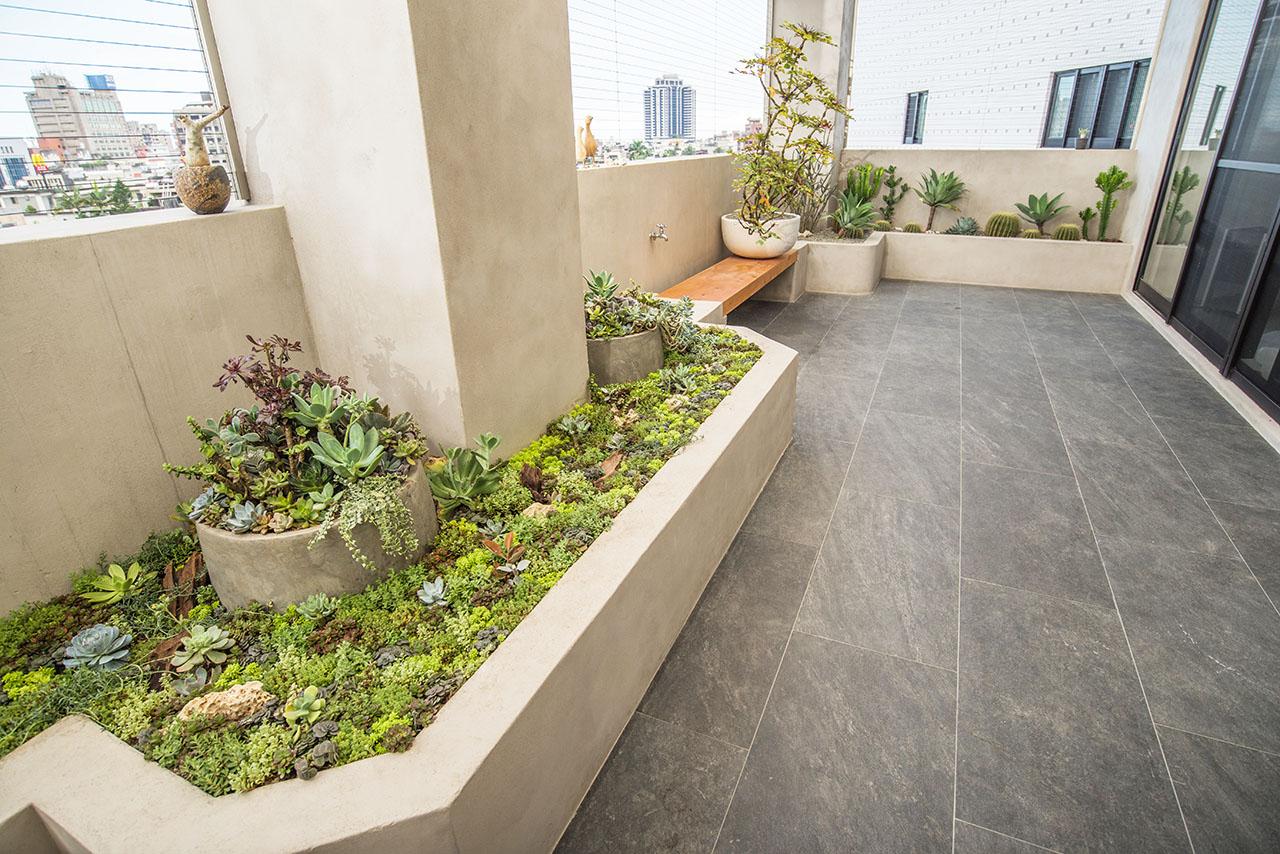 宜蘭陽台植物造景佈置案例