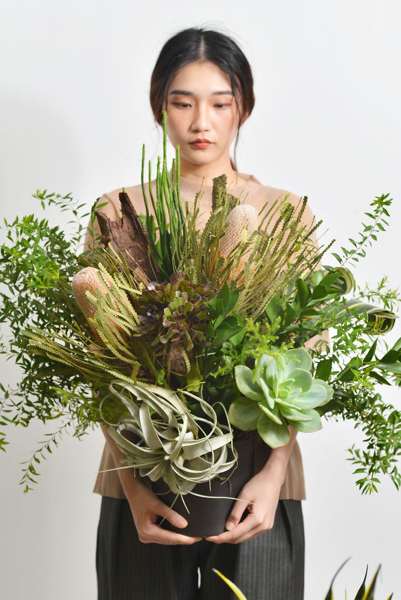植藝交響曲 - 大氣桌花 12