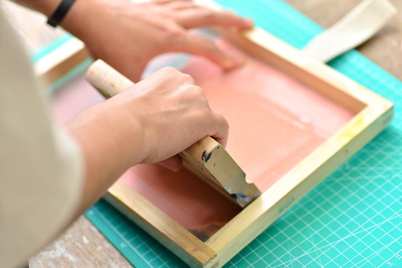 絹印手作活動