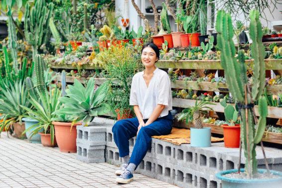 陽台植物牆佈置