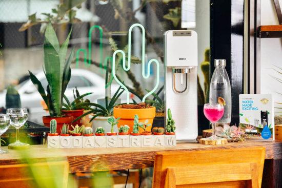 sodastream 氣泡水機於週年慶活動
