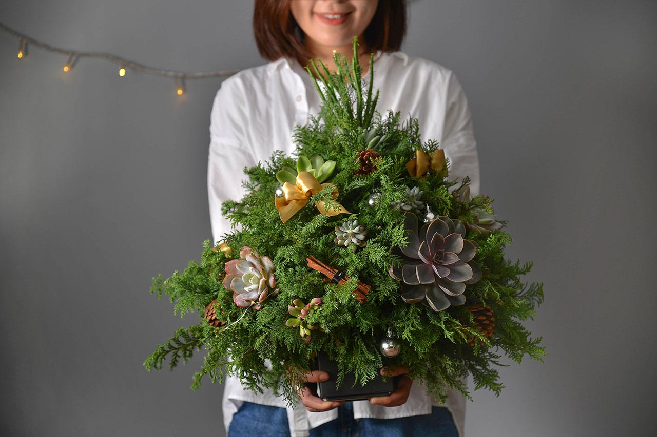 桌上型聖誕樹