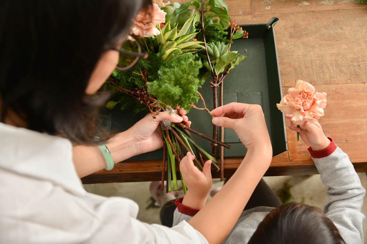 親子花藝課