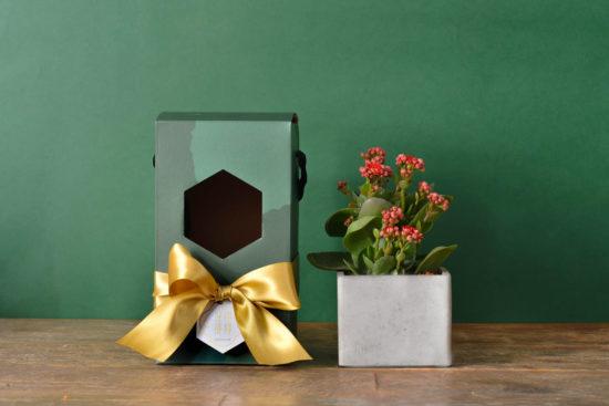 祝福圓滿的年節禮盒、春節花藝課程一次到位! 1113 春節花禮盒 175