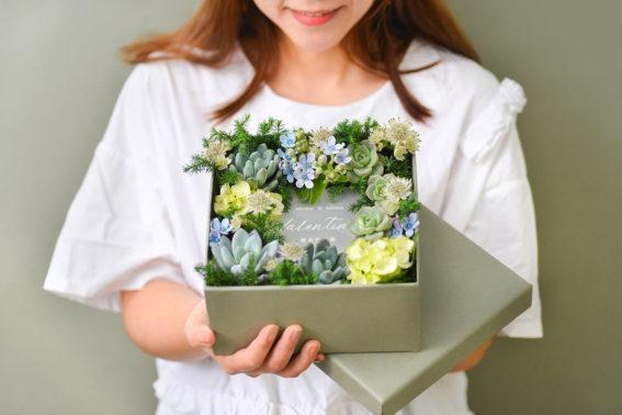 情人節花禮盒