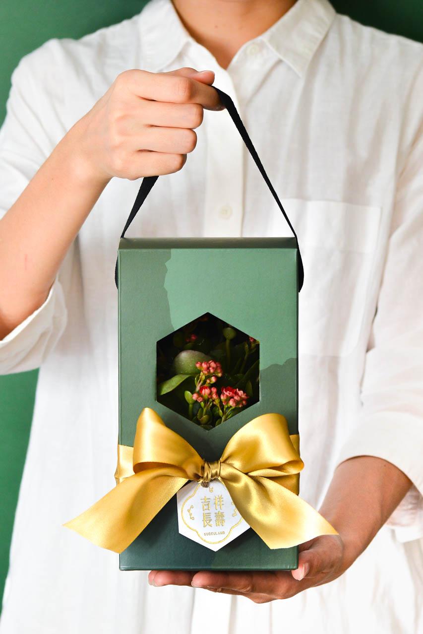 彩綠 - 吉祥長壽禮盒 1113 春節花禮盒 061 1