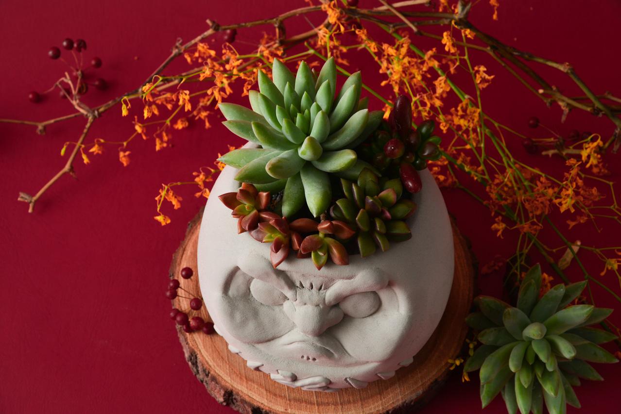 日系祈福盆栽