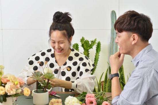 「母親節企劃」專注於多肉植物手作課程,找回最原本的自己 - Linda 專訪 Linda 有肉採訪 母親節專題2 1