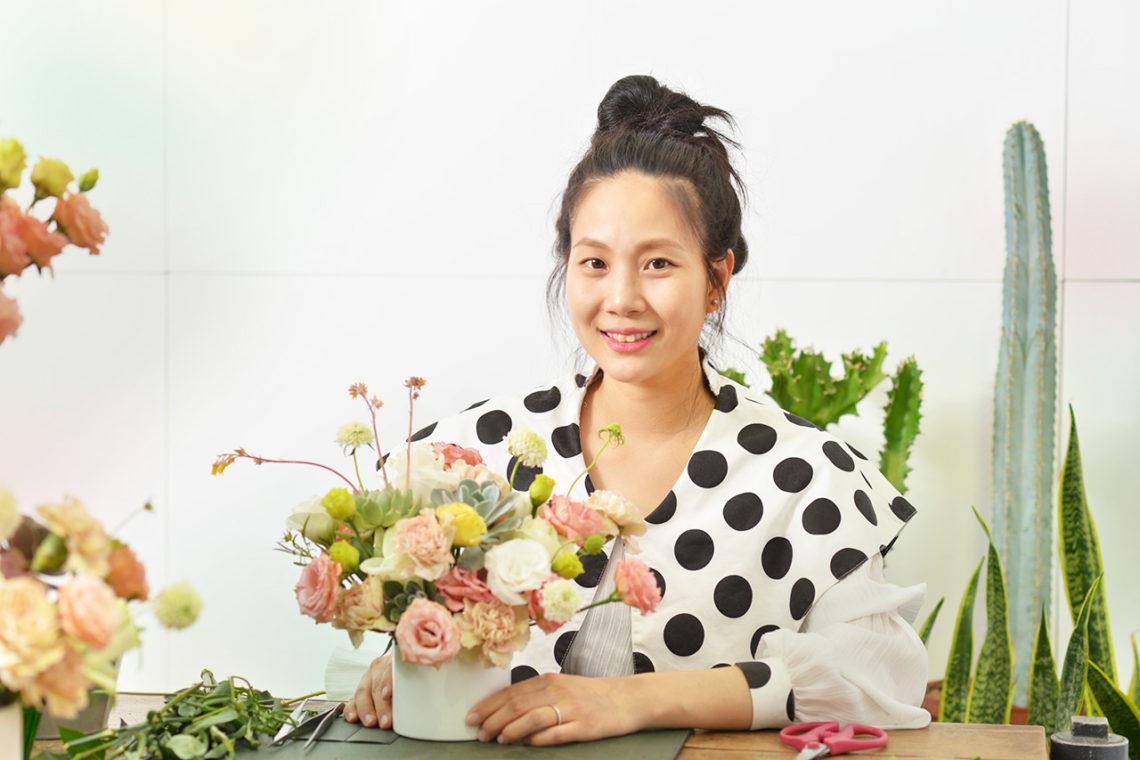 「母親節企劃」專注於多肉植物手作課程,找回最原本的自己 - Linda 專訪 Linda 有肉採訪 母親節專題7