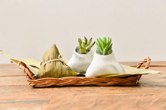 台灣盆器 / 植栽新設計(2020 第一季) 2020端午節植物系禮盒12