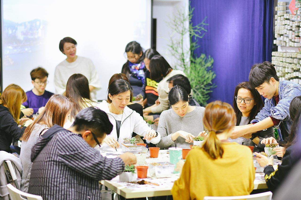 [ 母親節花藝 ] 愉悅慢生活 CK手作體驗課程包班 包班 企業活動 076
