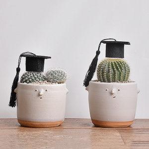 畢業生小童 - 仙人掌盆栽2