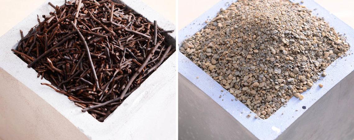 介質介紹:蛇木屑&山砂