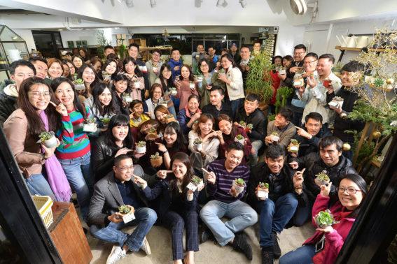 聖誕節活動:利潔時 70 人團體包班15