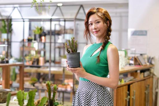 與植物談戀愛!專訪張景嵐:因為「他」我學會斷捨離 00106