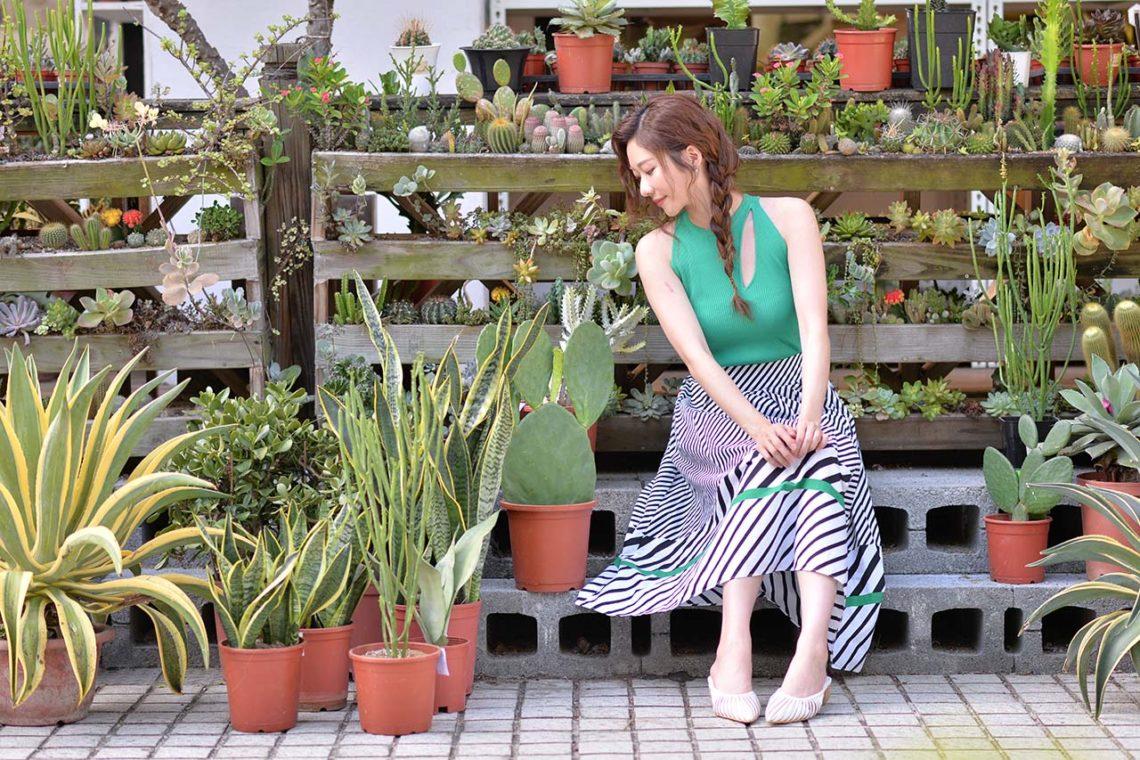 與植物談戀愛!專訪張景嵐:因為「他」我學會斷捨離 9