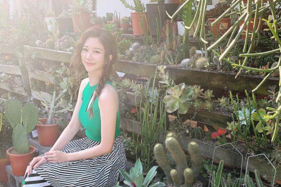 與植物談戀愛!專訪張景嵐:因為「他」我學會斷捨離 1