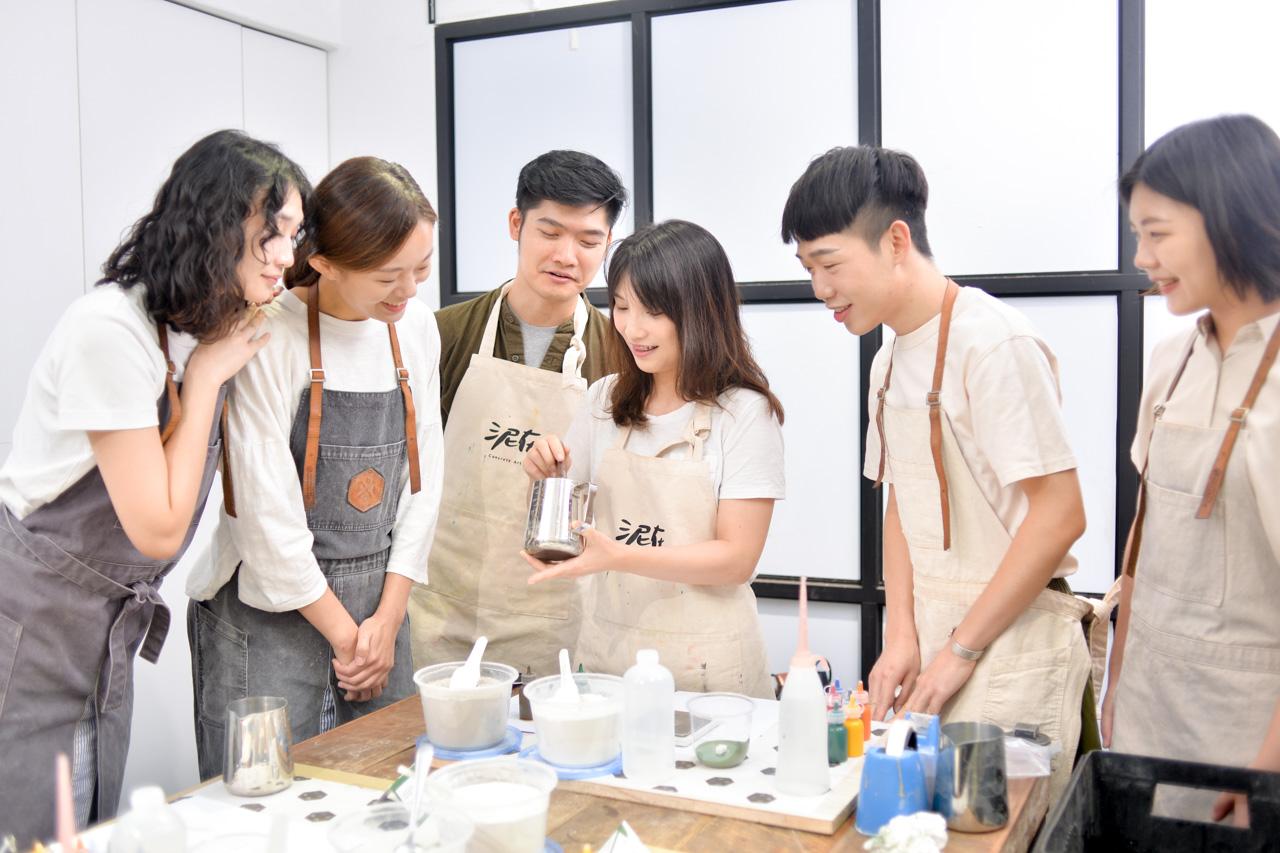 [ 水泥課程 ] 諧意繪泥 & 療癒植栽 4 4