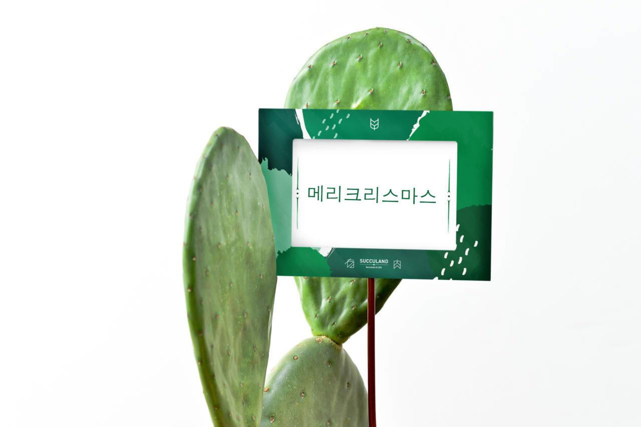 韓文的聖誕賀詞