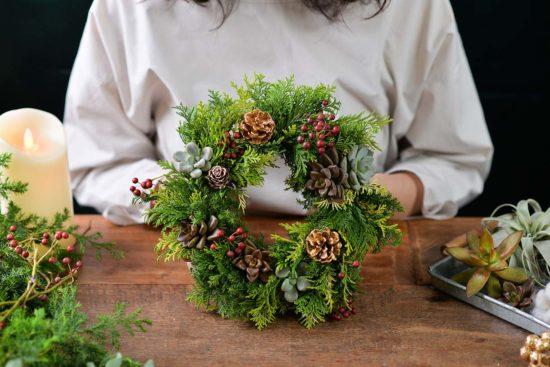 最有溫度的聖誕手作,一起動手做聖誕花圈、聖誕樹! 202011