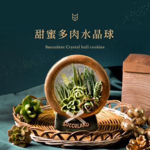 [ 聖誕活動 ] 甜蜜多肉水晶球 2020聖誕節 甜蜜多肉水晶球 1040X1040