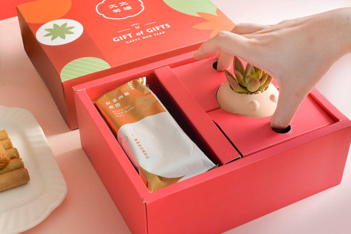春節特色禮盒推薦 自然清新帶著走 X有肉2021春節聯名禮盒5