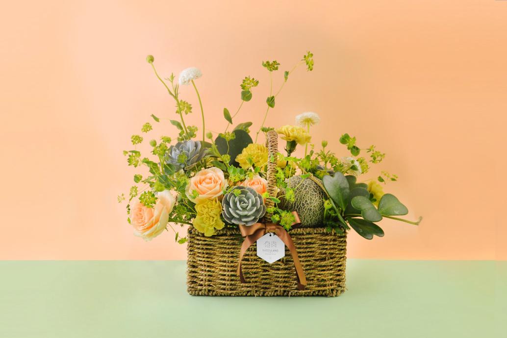 真心美 - 母親節多肉水果花禮盒 2021母親節最美花禮盒1