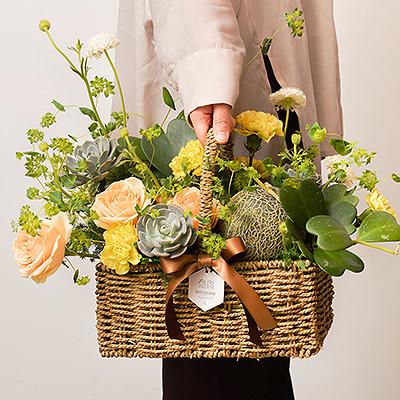真心美 - 母親節多肉水果花禮盒 2021母親節最美花禮盒400