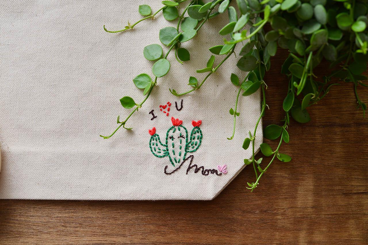 [ 基礎刺繡 ] 愛的小繡包 2
