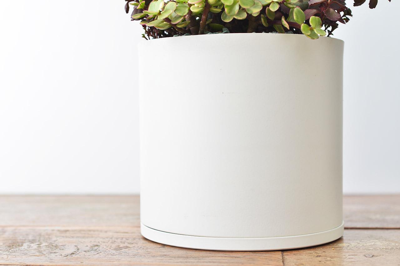 純白盆器設計