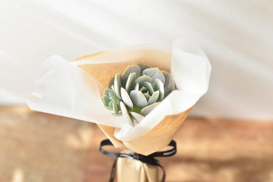 以陪伴為名植物為禮,2021 七夕情人節「植束」予你 2021 七夕情人節花束 多肉植物玉蝶花束2