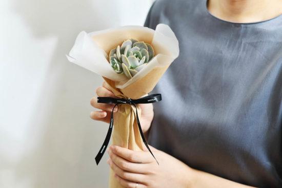 以陪伴為名植物為禮,2021 七夕情人節「植束」予你 2021 七夕情人節花束 多肉植物玉蝶花束5