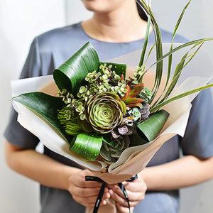 2021 七夕情人節花束-多肉植物花束2